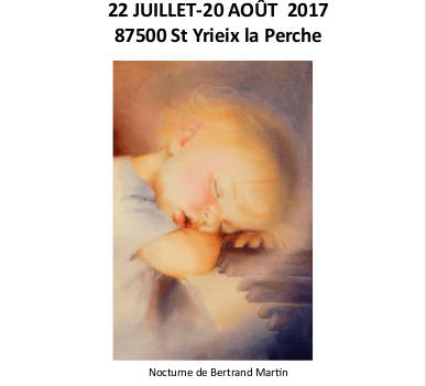 Aquarelle Saint Yrieix La Perche 2017