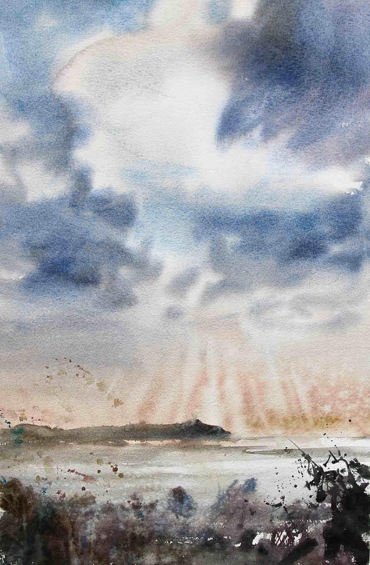 emmanuele cammarano watercolor artist watercolour landscape palinuro