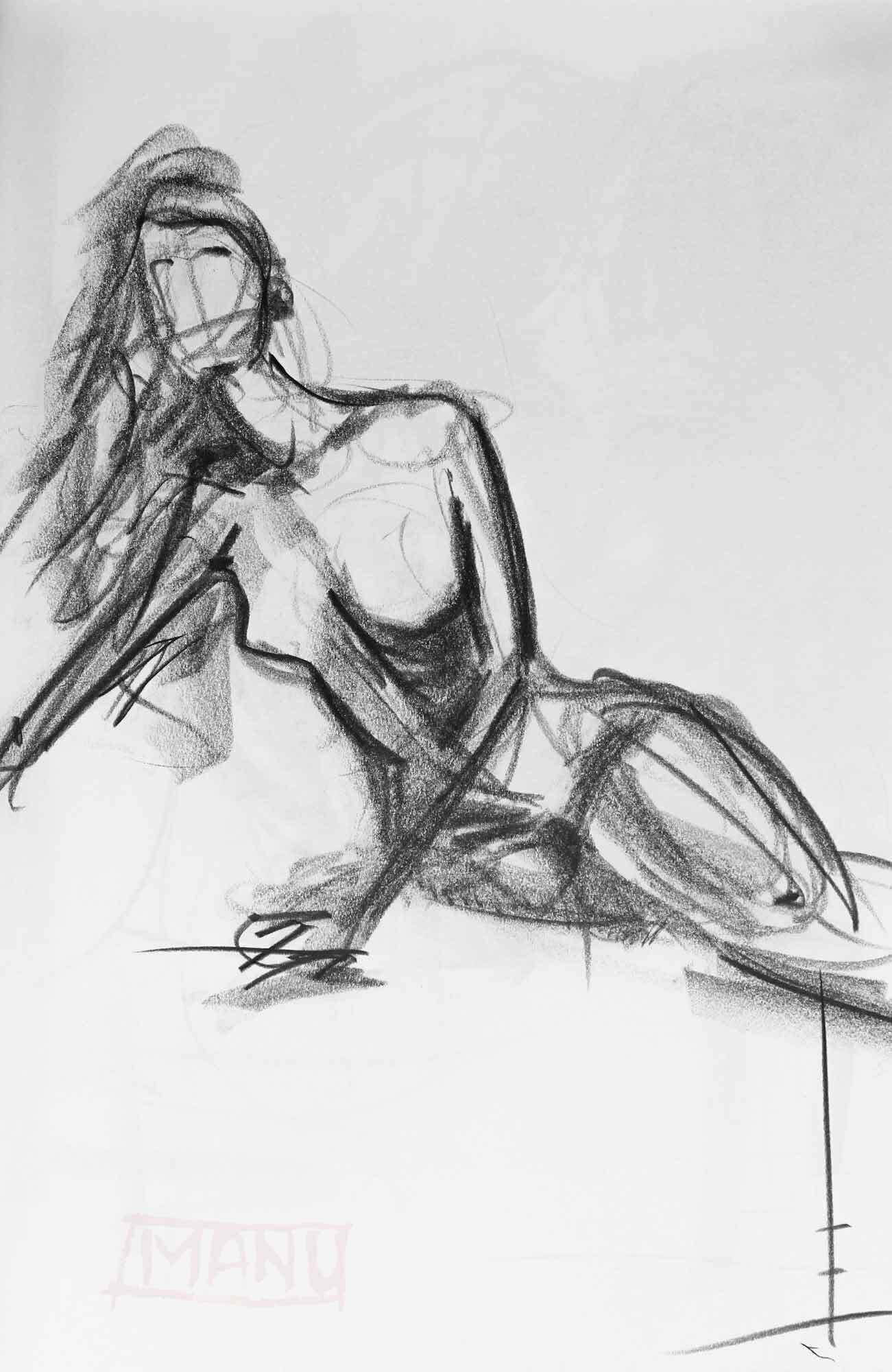 Sketch Drawing · Emmanuele Cammarano - Artwork for sale shipping included