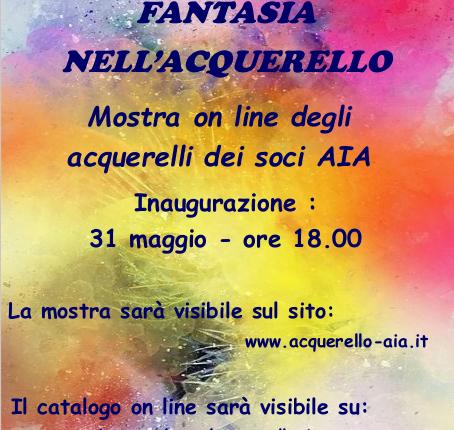 AIA Online Exhibition 2020 - Expo online Associazione italiana acquerellisti - Emmanuele Cammarano Artist